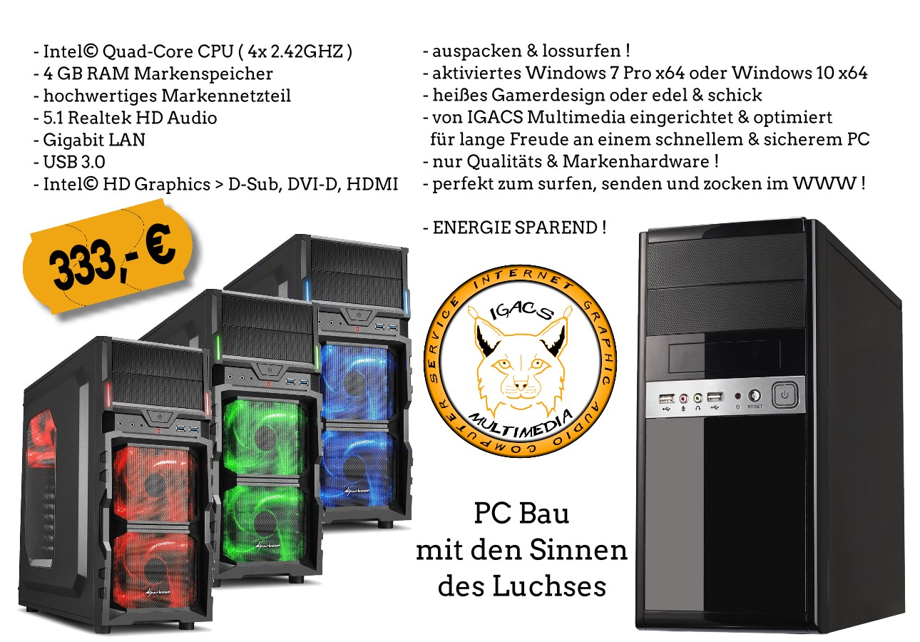 PC Angebot 1